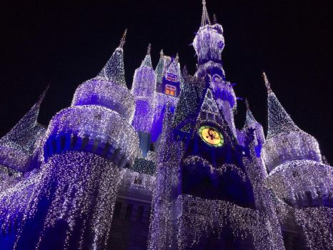 Castle in Lights by diamondtonedesign