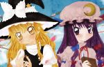 Marisa and Patchouli Preview by Kawaii-Dream