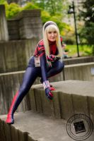 Spider Gwen Stacy by burningdreams76