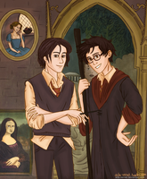 You'd have thought Black and Potter were brothers. by Ada-Vernet