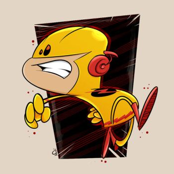 Reverse Flash by kaicastle