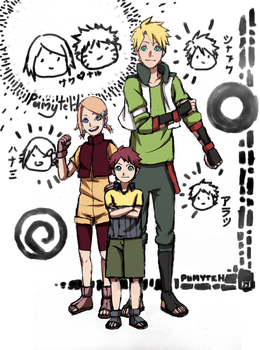 Sunshine Family by PumyteH
