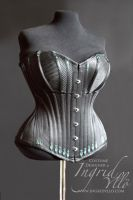 Corded Corset by MissMaefly