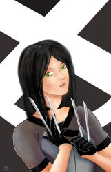 X-23 by UncannyViolet