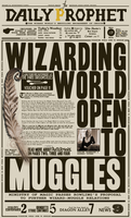 Daily Prophet - Pottermore by nathanthenerd