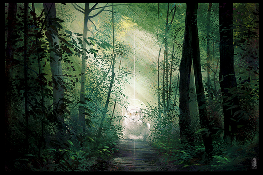 Forest Study by Eden-West