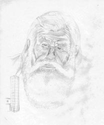 Old Man by sam-ware