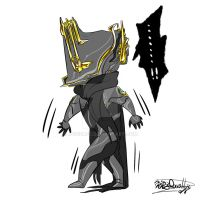 warframe:Umbra by jcgieafe
