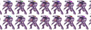 Multi-Drive Genesect Army by labouka