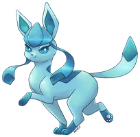 Glaceon - Gift Request by VampireSelene13