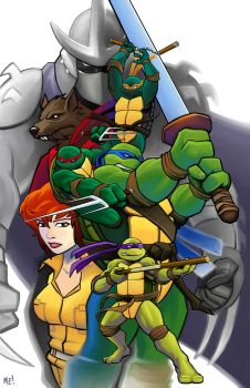 TMNT by MasonEasley