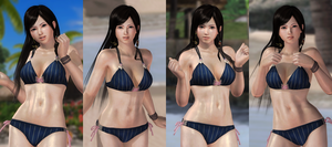 Kokoro Night Onyx 001 (22 Pics) by DOA5lrScreenShots