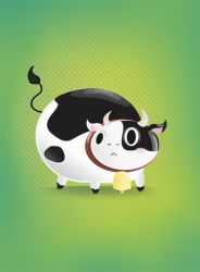 Vector Cow by FernandaFrick