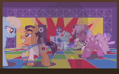 Dance Party by herooftime1000
