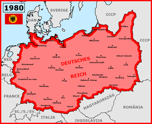Alternative Germany (Hitler died in his bed) by matritum