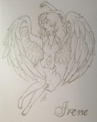 The Angel Irene ~Finished~ by STAR1518jb
