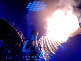 Till of Rammstein The angel by VampirRequiem