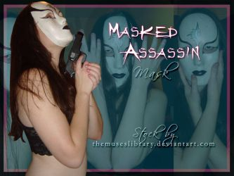 Masked Assassin Mask PACK by themuseslibrary