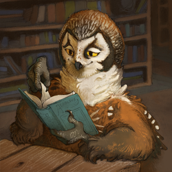 Library coma by WintersRead