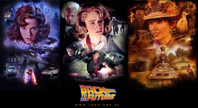 Back to the Future: Trilogy by jdesigns79
