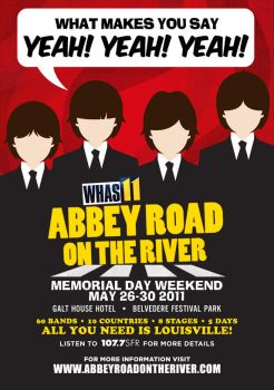 Abbey Road on the River Poster by urbanswag