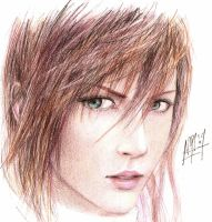 Lightning -2nd try- incomplete by Nia90