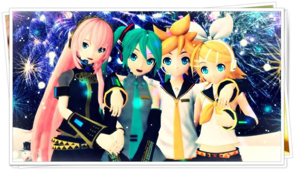 Vocaloid2 - Merry Christmas by InspirationWave