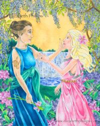 Demeter and Persephone 1 by ElizabethPhillips