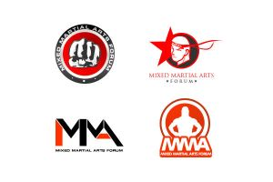 mma  forum logo by blue2x