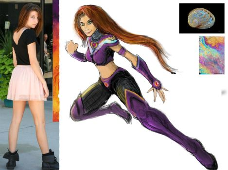 Starfire Very First Concept Sketch by TTProject