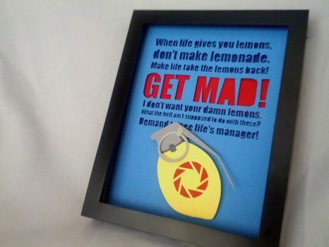 GET MAD: The Combustible Lemon Shadowbox by Hatpire