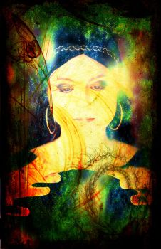 Tease Tarot: The World by StellaPrice