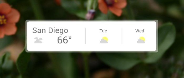 Google Weather 5.0 by fivetwofoureight