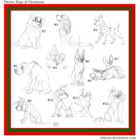 12 Dogs of Christmas--Character Giveaway! by Coloran