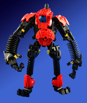 Bionicle MOC - Vern Vermilious by Prhymus
