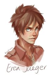 Eren Jaeger by dorodraws