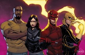 The Defenders by ParisAlleyne
