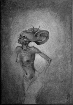 Art macabre by Lamollesse