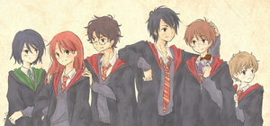 Marauders by 4leafcolour