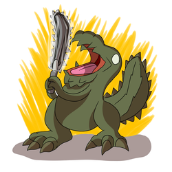 Chainsaw Jho by TheArgoNinja