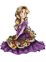 Rapunzel by MicroPixels