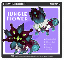 [ADPT] Flowerbuddie Jungle Flower - CLOSED by KngCorvidae
