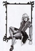 Framed in Black. Howl by the-infamous-padfoot