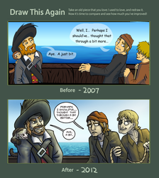 Draw This Again - PotC: Oops by Ayemae