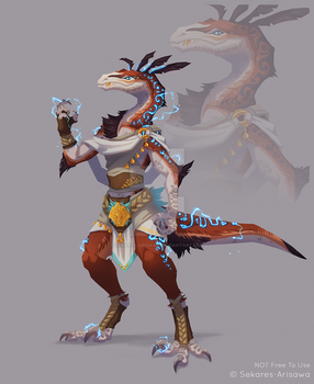 Character Auction: Raptor (Closed)