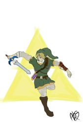 link from twilight princess by Major-Aks