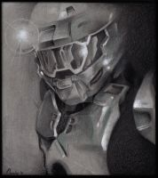 Master Chief by doodlingdruid