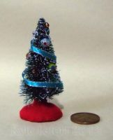Miniature Decorated Christmas Tree - Small by Kyle-Lefort