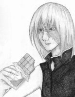 Mello with chocolate by lady-largo