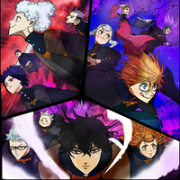 Black Clover Chapter 135 Colors Pages Manga Fight by Amanomoon